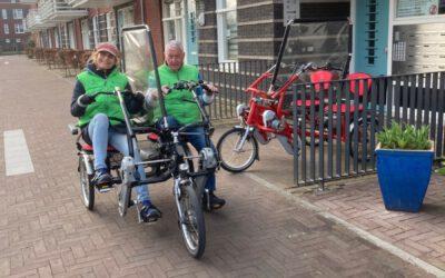Rolstoelwandelen en rolstoelfietsen voorzichtig weer gestart!